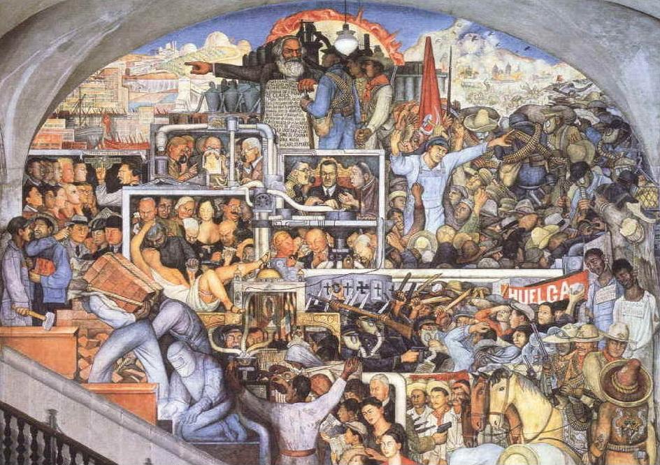 Diego Rivera - mexico oggi e domani
