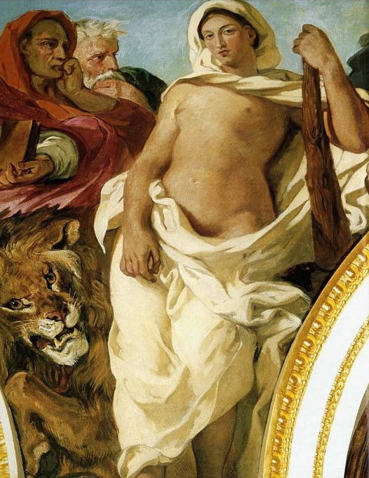 Eugene Delacroix - la Giustizia