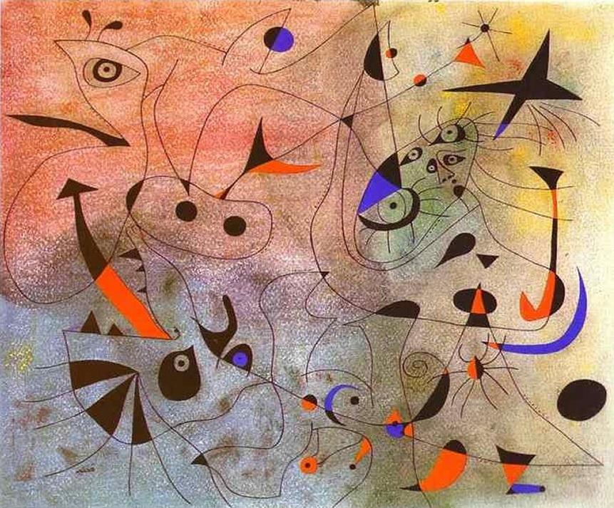 Joan Miro - costellazione stella del mattino