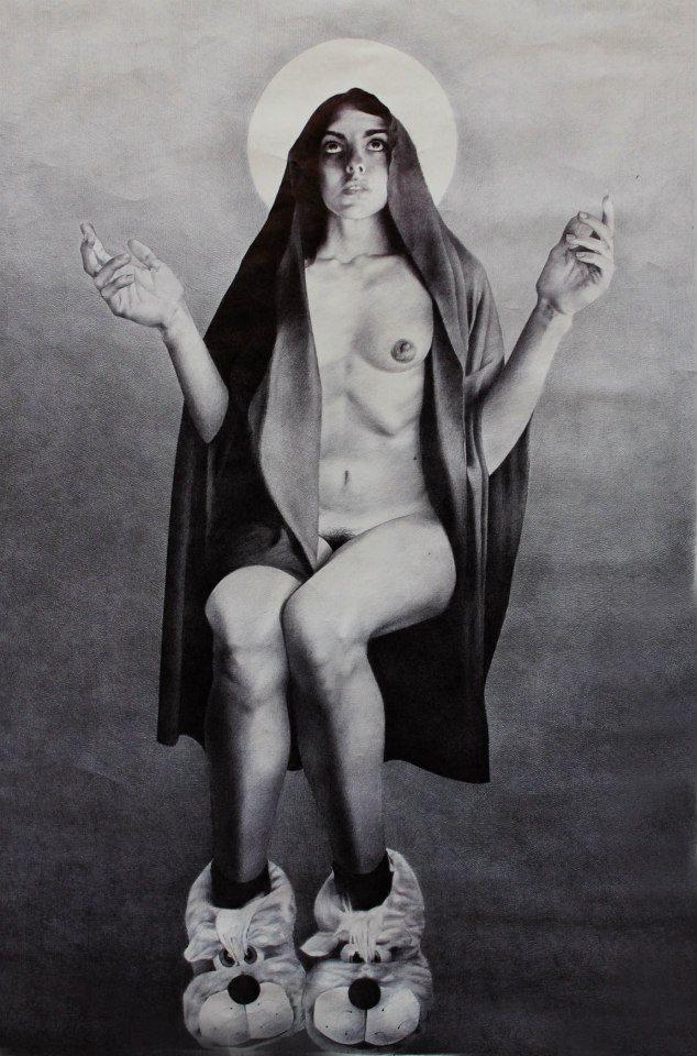 Mariarita Renatti - Madonna con le babbuccie