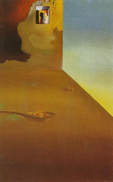 Salvador Dalì - incontro dell illusione col momento fermo