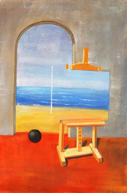 René Magritte - la condizione umana